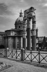 Forum Romanum, Architecture,Decorative Arts,Paper Art,Photography, Fine Art,Photorealism,Realism, Architecture,Celestial / Space,Cityscape,Documentary, Photography: Metal Print,Photography: Photographic Print,Photography: Premium Print,Photography: Stretched Canvas Print, By Ira Silence