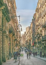 Gothic District,<br>Barcelona-Spain, Poster, Realism, Figurative, Photography: Photographic Print, By Daniel Ferreira Leites