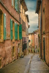 Green Shutters, Photography, Photorealism, Cityscape, Photography: Premium Print, By Mike DeCesare