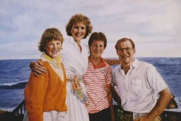 Hargis's Hawaii, Paintings, Realism, Portrait, Oil, By James Cassel