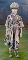 Henry, Paintings, Expressionism, Historical, Oil, By Jane Adrianson