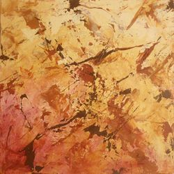 In Flight, Paintings, Abstract, Nature, Acrylic, By joseph piccillo