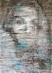 Irene (n.373), Paintings, Abstract, Portrait, Acrylic, By Alessio Mazzarulli
