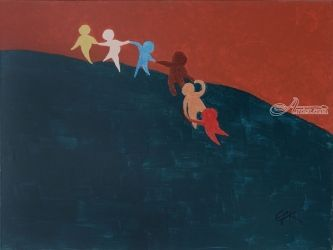 Journey, Paintings, Modernism, Dance, Acrylic, By Eric Kirkpatrick