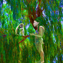 Jungle Connection, Digital Art / Computer Art, Commercial Design,Modernism,Surrealism, Fantasy, Digital, By Matthew Lacey