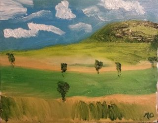 Juniata County, Paintings, Impressionism, Landscape, Oil, By MD Meiser