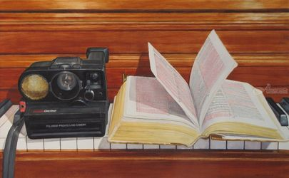 Keys, Paintings, Realism, Spiritual, Watercolor, By James Cassel
