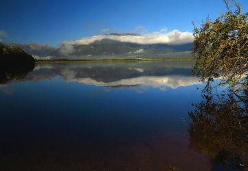 Lake Haupiri 3, Photography, Photorealism, Landscape, Canvas,Photography: Metal Print,Photography: Photographic Print,Photography: Premium Print,Photography: Stretched Canvas Print, By Ernest Wong
