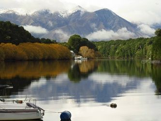 Lake Manapouri 1, Photography, Fine Art, Landscape, Canvas,Photography: Photographic Print,Photography: Stretched Canvas Print, By Ernest Wong
