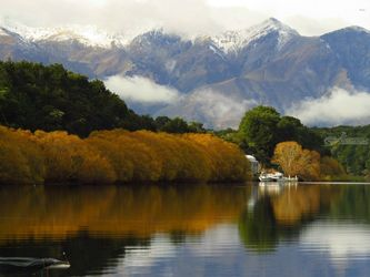 Lake Manapouri 12, Photography, Photorealism, Landscape, Canvas,Digital,Metal,Photography: Metal Print,Photography: Photographic Print,Photography: Premium Print,Photography: Stretched Canvas Print, By Ernest Wong