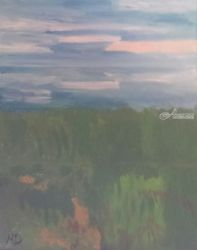 Landscape, Paintings, Impressionism, Landscape, Oil, By MD Meiser