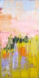 Landscape, Umbria, Paintings, Abstract, Landscape, Acrylic, By Sal Panasci