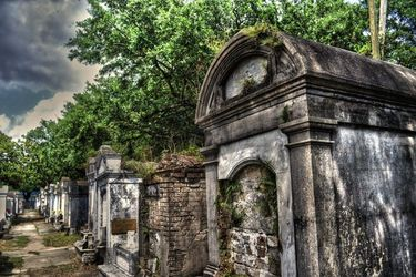 Layfayette Graveyard in New<br>Orleans, Louisiana 2013, Digital Art / Computer Art, Fine Art, Architecture,Grotesque,Historical,Spiritual, Digital, By Timothy Lowry