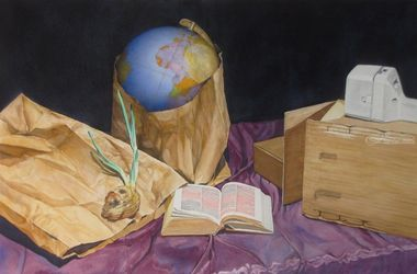 Limitations, Paintings, Fine Art, Still Life, Watercolor, By James Cassel