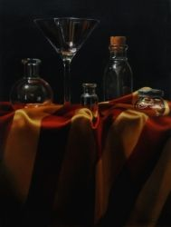 Liver Alone, Paintings, Realism, Still Life, Oil, By Marcel Franquelin