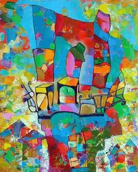 Locarno, Paintings, Expressionism,Impressionism, Architecture, Oil, By Vyara Tichkova