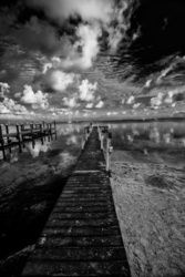 Long Dock Key LArgo, Photography, Expressionism, Seascape, Photography: Premium Print, By kevin cable
