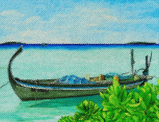 Maldivian-fishing-boat