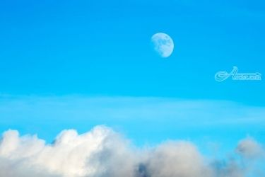 Moon Shot, Photography, Photorealism, Landscape, Photography: Premium Print, By Mike DeCesare