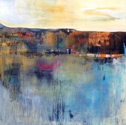 Munros, Paintings, Abstract, Landscape, Acrylic, By Petra Lea