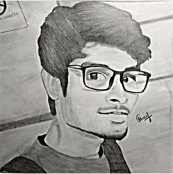 MySketch, Drawings / Sketch, Realism, Portrait, Pencil, By Naveen Kumar