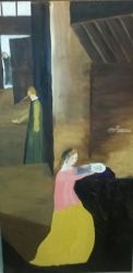 Nativity, Paintings, Fine Art, People, Oil, By MD Meiser