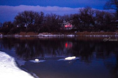 Night River 4, Photography, Fine Art, Nature, Photography: Photographic Print, By Jim Stewart
