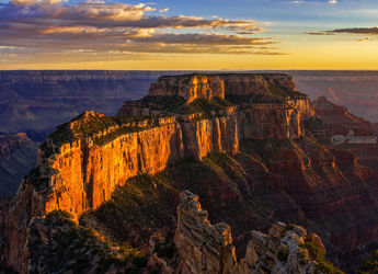 North Rim, Photography, Photorealism, Landscape, Photography: Premium Print, By Mike DeCesare
