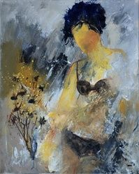 nude 455140, Paintings, Impressionism, Decorative, Canvas, By Pol Ledent