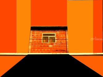 Orange, Collage,Paintings,Photography, Abstract, Composition, Digital, By Julie Hermoso