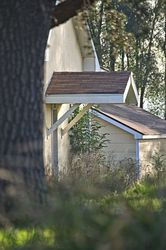 Outbuilding Morning, Photography, Photorealism, Landscape, Photography: Photographic Print, By Rich Mengel