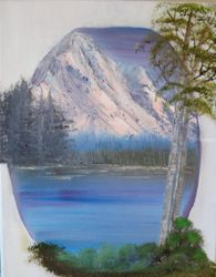 Over the Rainbow, Land Art,Paintings, Fine Art,Realism, Land Art,Landscape,Nature, Canvas,Oil, By Lana Fultz