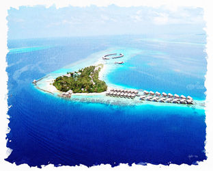 Over Water Villas,Maldives