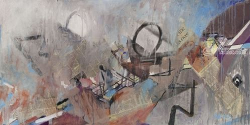 Overviewed, Paintings, Abstract, Avant-Garde, Mixed, By adi zur