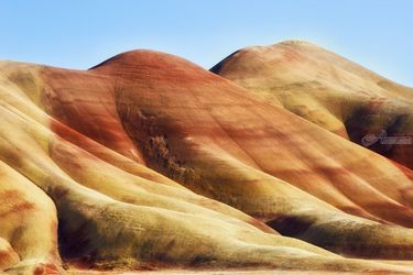 Painted Hills, Photography, Photorealism, Landscape, Photography: Premium Print, By Mike DeCesare