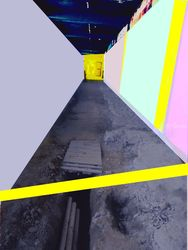 passage in progress, Collage,Paintings,Photography, Abstract,Pop Art, Composition, Digital, By Julie Hermoso