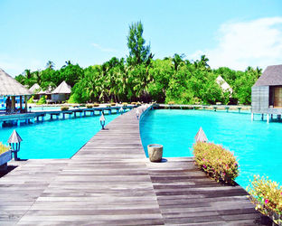 Pathway To Water<br>Villas/maldives