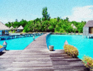 Pathway-to-water-villas-maldiv<br>es
