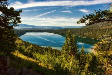 Phelps Lake, Photography, Fine Art,Photorealism, Landscape,Nature, Photography: Premium Print, By Mike DeCesare