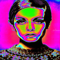 Pop Art Fashion, Digital Art / Computer Art, Commercial Design,Hallucinogens,Pop Art, Fantasy,Figurative,People,Portrait, Digital, By Matthew Lacey