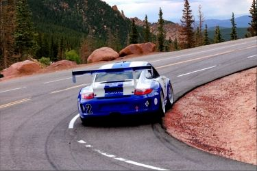 Porsche 911 GT3 Ascending<br>Pikes Peak, Photography, Chance, Historical, Photography: Photographic Print, By Erin Carr