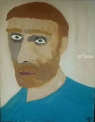 Portrait of a Man, Paintings, Fine Art, Portrait, Oil, By MD Meiser