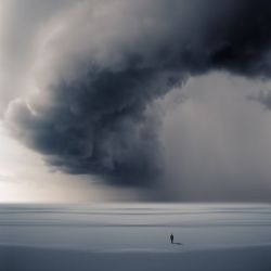 ride the storm, Digital Art / Computer Art, Surrealism, Conceptual, Photography: Photographic Print, By phillip mckay