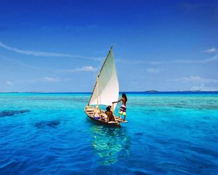 Sailing On The Ocean,maldives