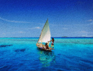 Sailing-on-the-ocean-maldives