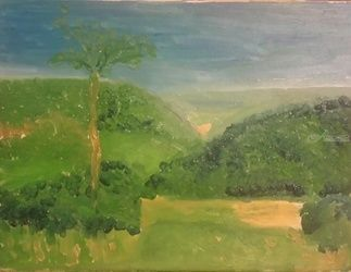 Sand Valley 4, Paintings, Impressionism, Landscape, Oil, By MD Meiser