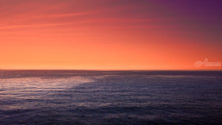 Santa Monica, Photography, Photorealism, Seascape, Photography: Premium Print, By Mike DeCesare