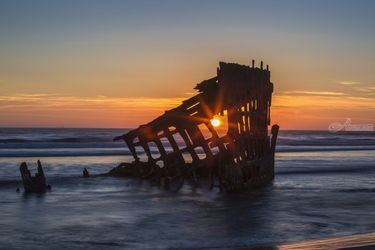 Shipwreck, Photography, Photorealism, Seascape, Photography: Premium Print, By Mike DeCesare