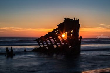 Shipwreck, Photography, Photorealism, Landscape,Seascape,Spiritual, Photography: Photographic Print, By Mike DeCesare