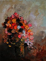 sill life 458852, Paintings, Impressionism, Still Life, Canvas, By Pol Ledent